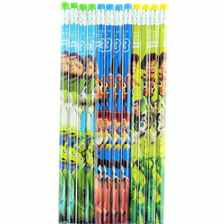 Party Favors Disney Toy Story 3 24 Wood Pencils Pack