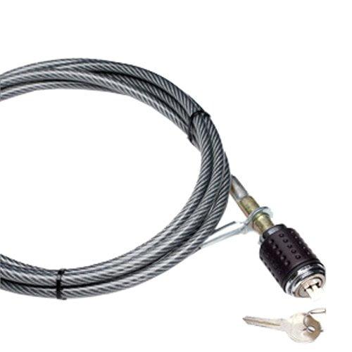 Heininger SportsRack 10 ft Chrome Plated Cable Lock