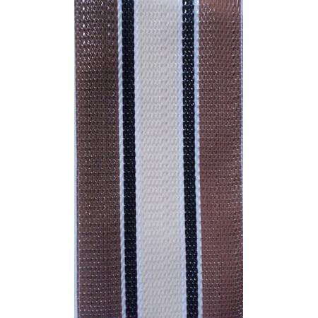 WebbingPro(TM) Lawn Chair Webbing Kit - Stripe Lawn Chair Webbing 2 1/4 Inches Wide 50 Feet Long Roll and 30 Webbing Screws ()