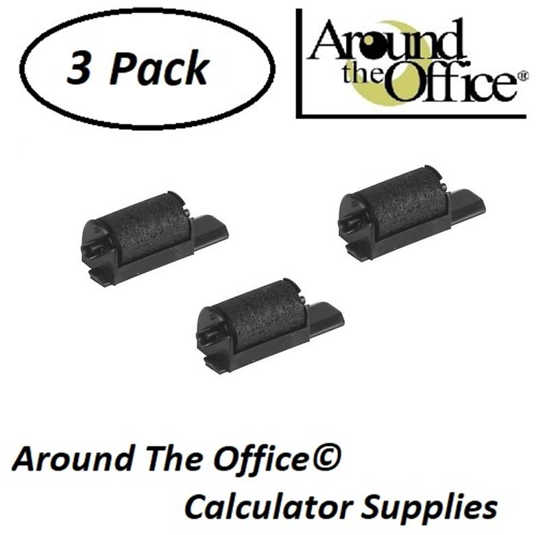 CASIO Model FR-1015 Compatible CAlculator CR-40 Ink Roll by Around The Office