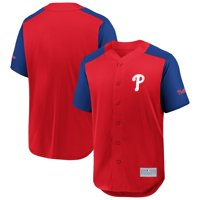 Philadelphia Phillies Fanatics Branded Grand Slam Full-Button Jersey - Red/Royal
