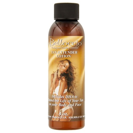 Belloccio Daily Body Face TAN EXTENDER LOTION Skin Moisturizer Sunless Airbrush