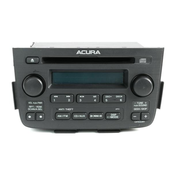 2005-2006 Acura MDX AM FM Satellite Ready Radio 39101-S3V