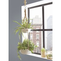 Better Homes & Gardens Parquet Outdoor Double Hanging Planter