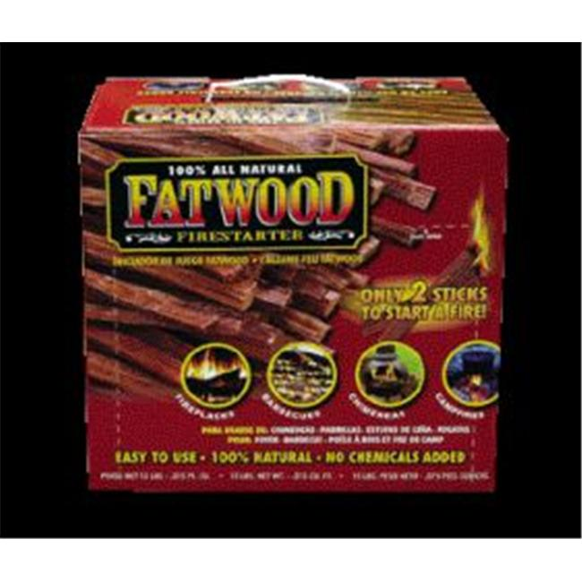 Wood Products International Fatwood Box 15 Pounds - 09915