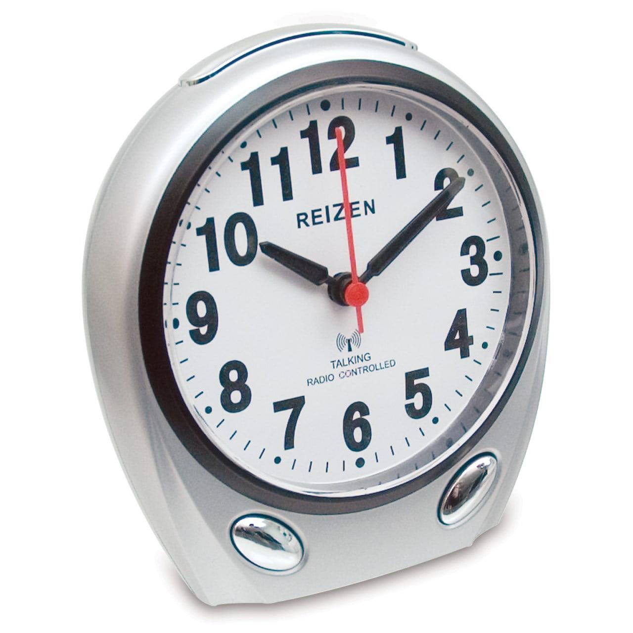 REIZEN Talking Atomic Analog Alarm Clock