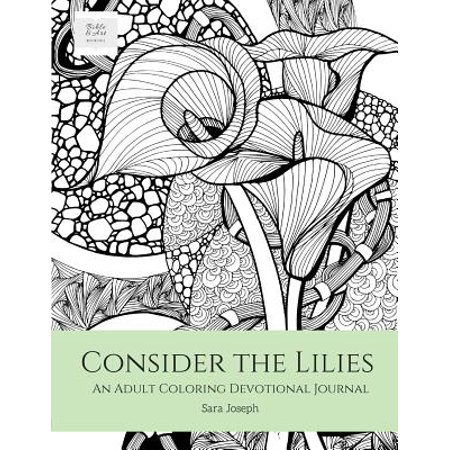 Adult Lily (Consider the Lilies : An Adult Coloring Devotional Journal )
