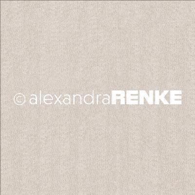 """Alexandra Renke Basic Design Paper 12""""X12""""-Light Brown Knitted"""