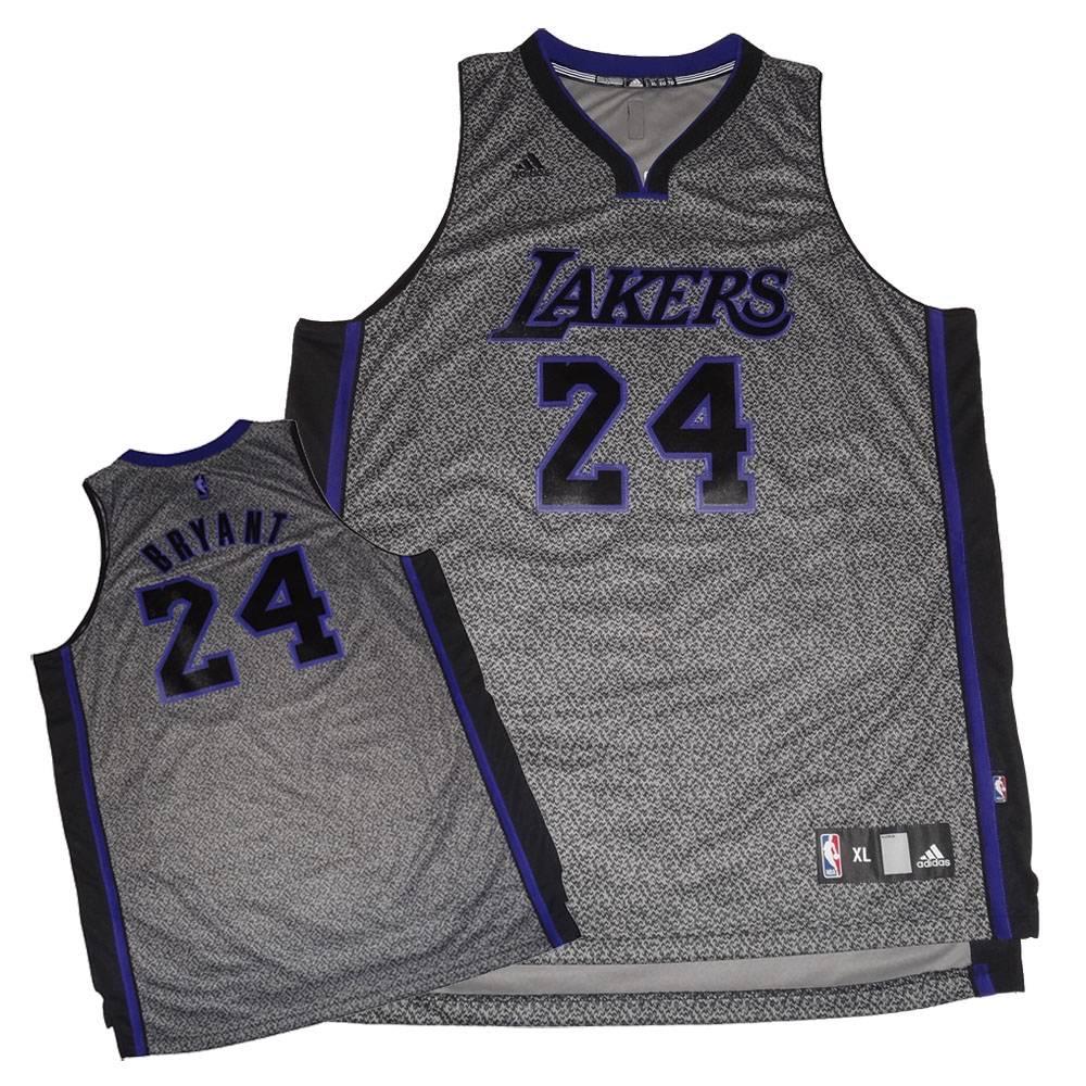 Adidas Kobe Bryant #24 Los Angeles Lakers Men's Static Swingman Jersey - XL