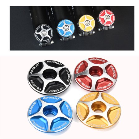 Aluminum Threadless Road MTB Bike Bicycle Stem Accessories Headset Top Cap Cover Hight Quality