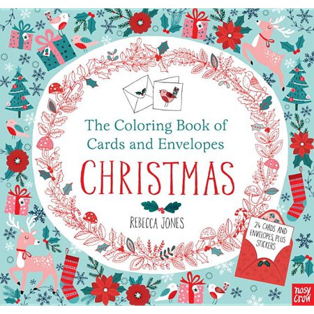 The Coloring Book of Cards and Envelopes: Christmas ()