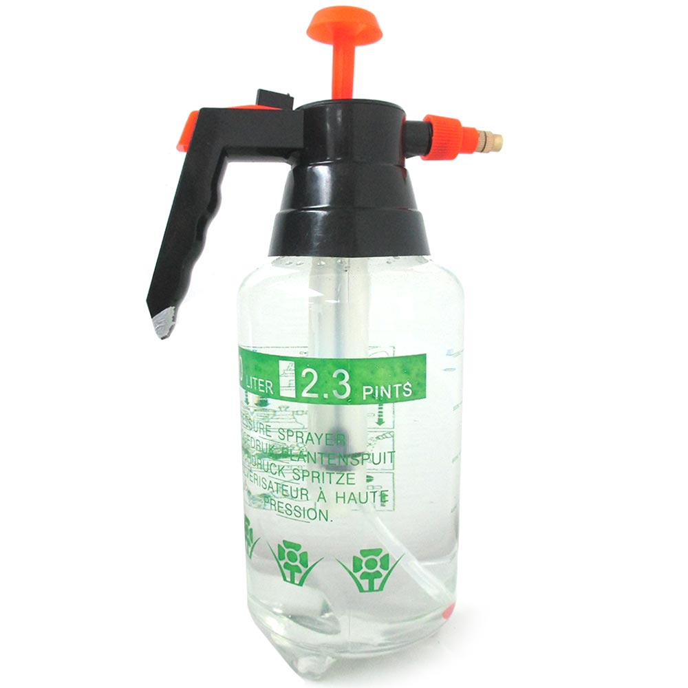 Pressurized Spray Bottle 1L Portable Chemical Sprayer Pressure Garden Handheld by JMK IIT