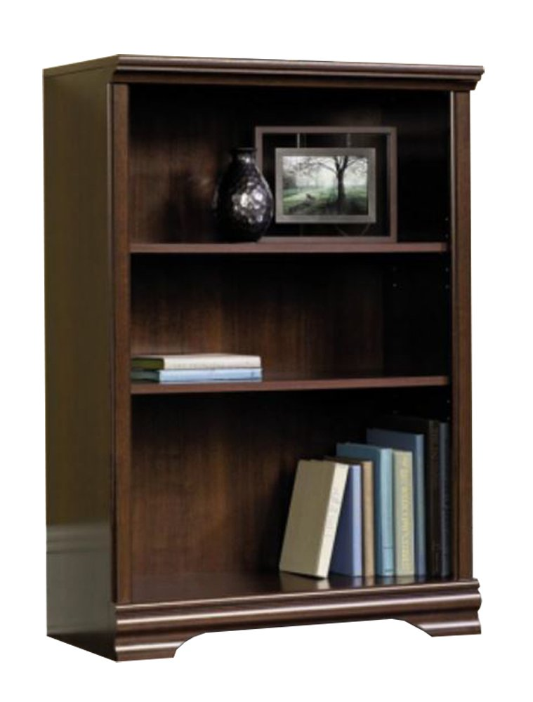 Sauder 3-Shelf Bookcase, Select Cherry Finish - Walmart