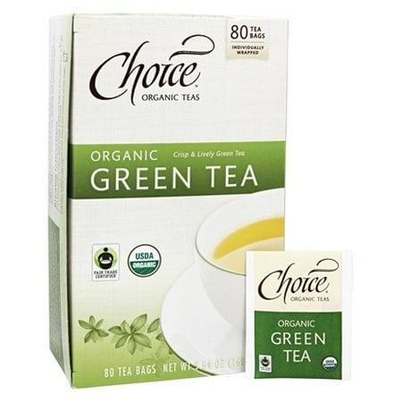 Choix thés bio Sacs Thé bio, thé vert, 80 Pc