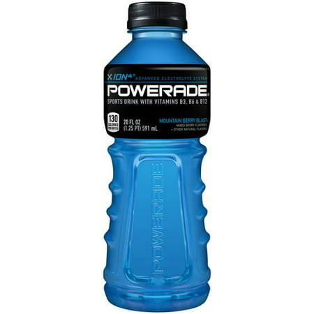 powerade ion4 mountain berry blast sports drink 20 fl oz