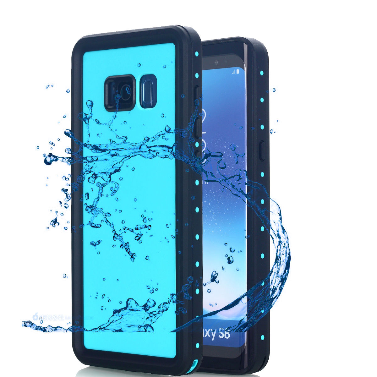los angeles 24289 28a8c Samsung Galaxy S8 Plus IP68 Waterproof Case,Alcase 9.8ft Underwater  Shockproof Heavy Duty Dirtproof Full Sealed Case Cover for Samsung Galaxy  S8 Plus ...