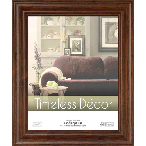 Timeless Frames 79380 Barona Walnut Wall Frame, 16 x 20 in.