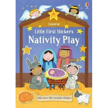 LITTLE FIRST STICKERS NATIVITY PLAY - Nativity Stickers