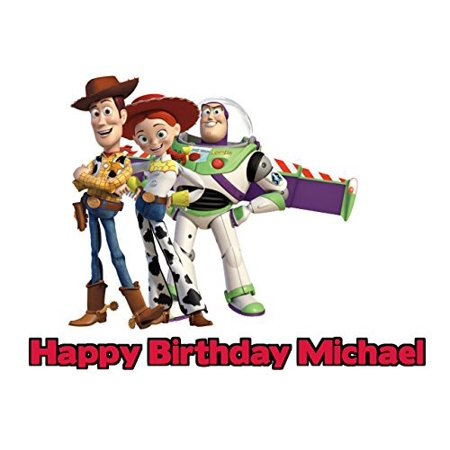 Toy Story Edible Frosting Image Cake Topper Sheet 1/4 Sheet (Toy Story Edible Images)