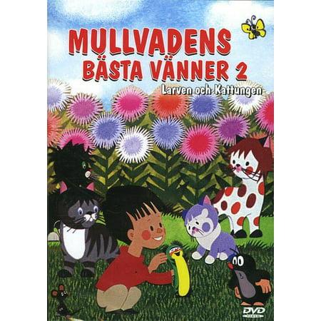 Little Mole's Best Friends 2 (3 Episodes) ( The Three Cats / Larva / Rooster and Hen ) ( Krtek ) [ NON-USA FORMAT, PAL, Reg.0 Import - Finland