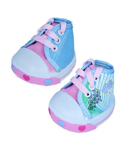 "Pink Singing Star Shoes Teddy Bear Clothes Fits Most 14"" 18"" Build-a-bear,... by Teddy Mountain"
