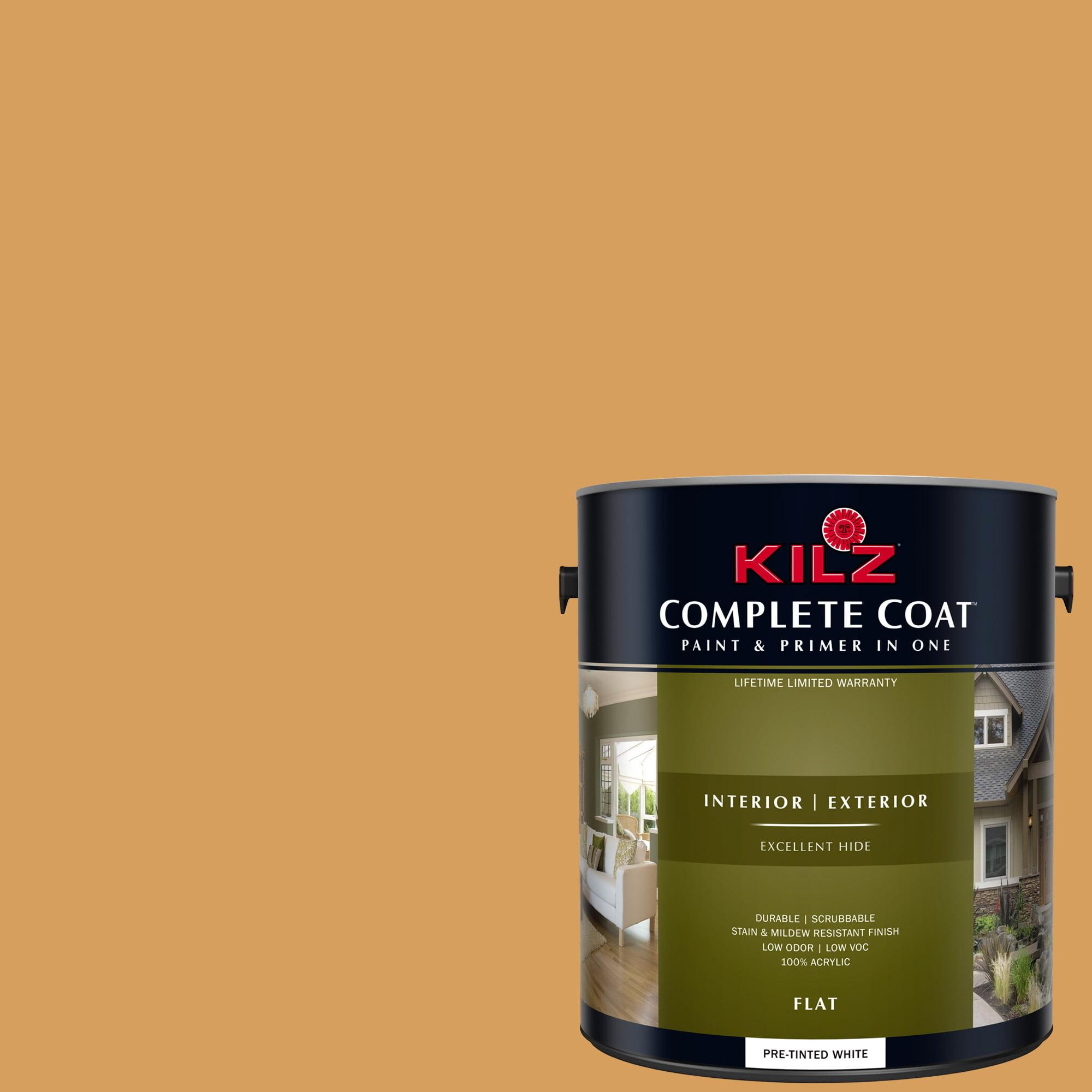 KILZ COMPLETE COAT Interior/Exterior Paint & Primer in One #LD280-01 Dingo