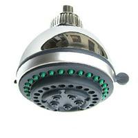 Bathhouse Water-saving Polished Bath Top Rainfall Shower Head Sprinkler Round