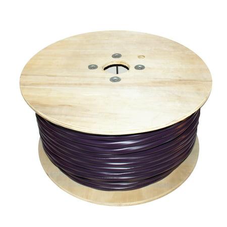 Infinity Cable 2RG6 Quad Bare Copper+CAT5E+CAT6 500FT, Violet