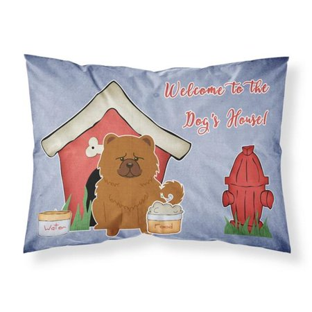 Carolines Treasures BB2896PILLOWCASE Dog House Collection Chow Chow Red Fabric Standard Pillowcase, 20.5 x 0.25 x 30 in. - image 1 of 1