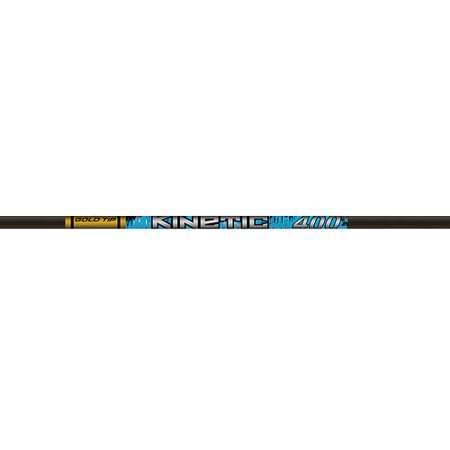 Gold Tip Kinetic Kaos Shafts, 12-Pack, Black, 300