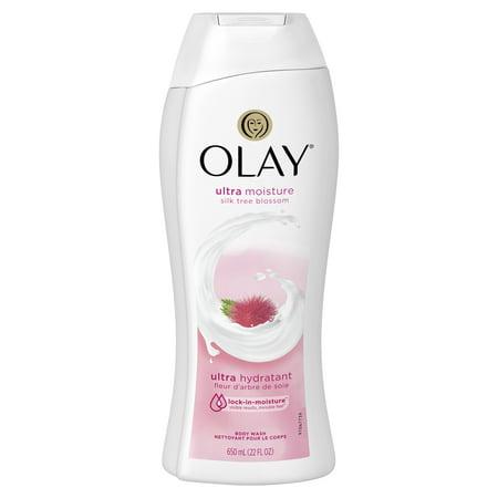 Olay Ultra Moisture Silk Tree Blossom Body Wash, 22 oz