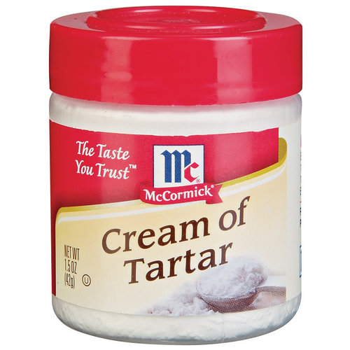 McCormick Specialty Herbs And Spices Cream Of Tartar, 1.5 oz