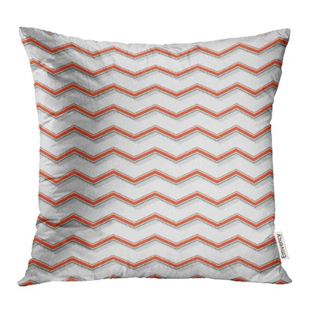 CMFUN Retro Zigzag Pattern Abstract Geometric 60S 70S 80S 90S Style Tie Dress Label Emblem Pillow Case Pillow Cover 20x20 inch Throw Pillow Covers (60s Tie)