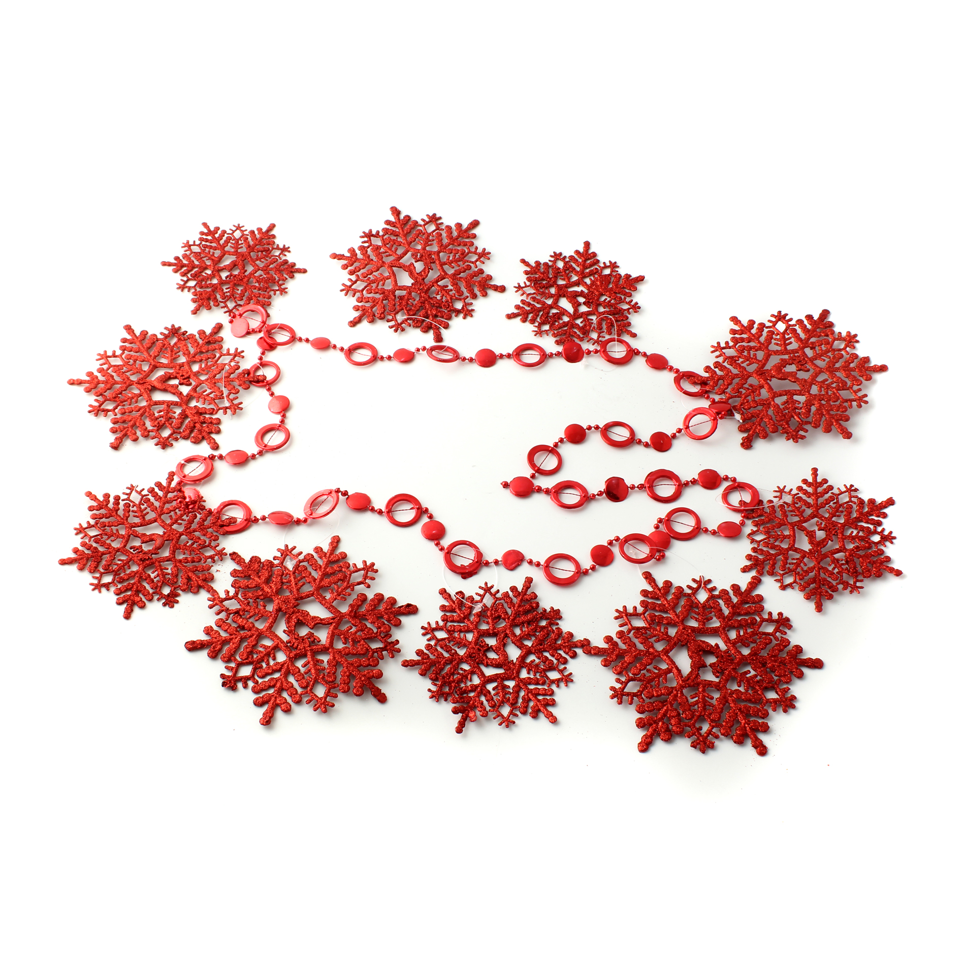 Snowflake Windows Door Christmas Tree Hanging Decoration Ornaments