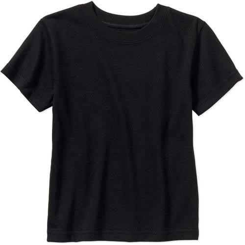 Baby Toddler Boy Basic Short Sleeve Solid Tee Shirt