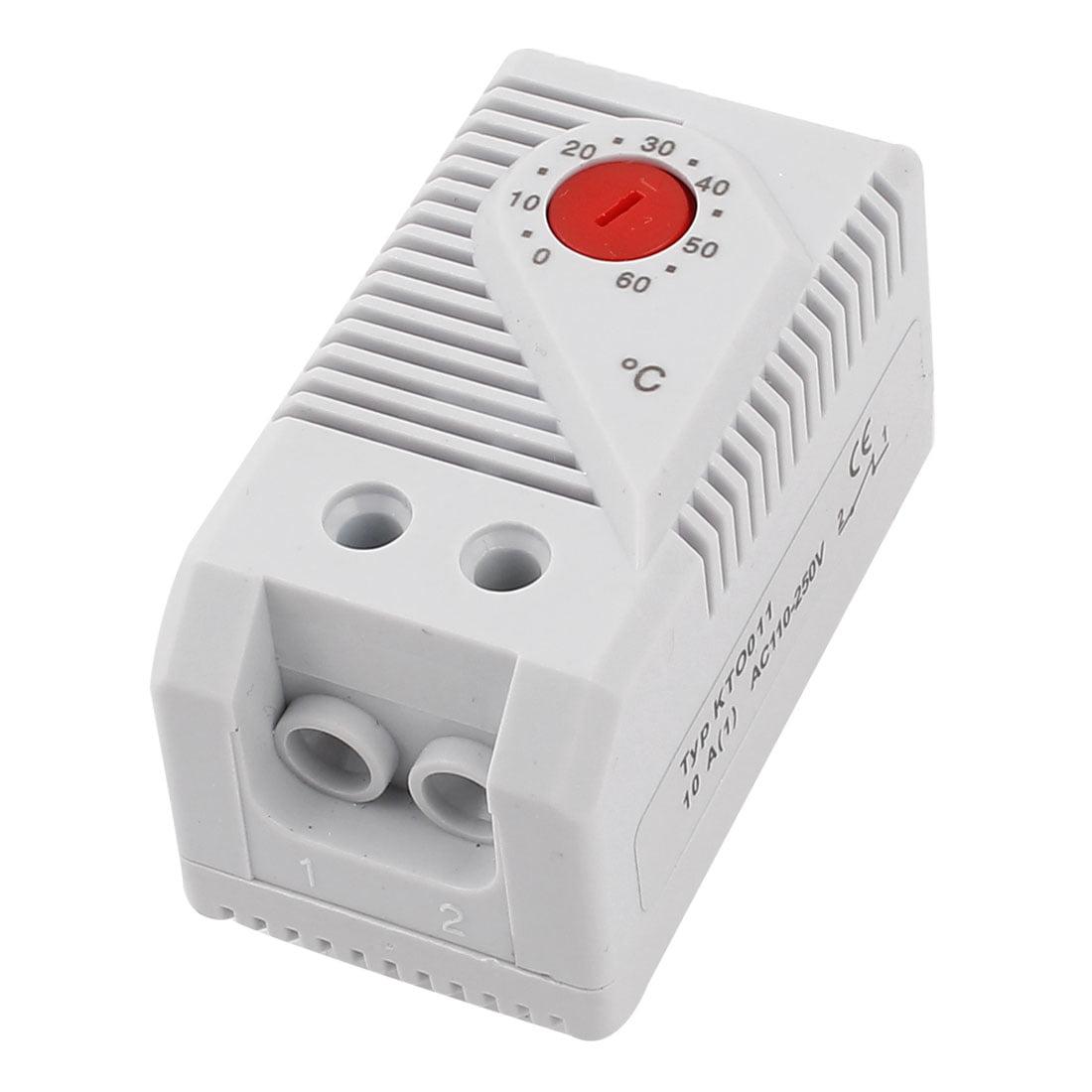 Unique Bargains KTO011 0-60 Celsius Degree Bimetallic Thermostat Temperature Controller