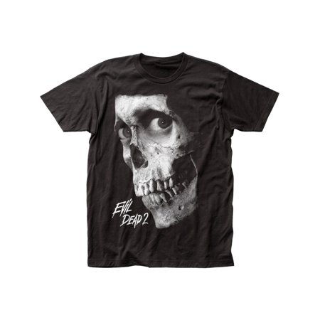 Evil Dead II Dead by Dawn black and white poster Fitted Jersey