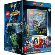 Lego DC Super Heroes 5-DVD Boxset Plus Playset ( Lego Batman: The Movie - DC Super Heroes Unite / Lego DC Comics Super Heroes: Justice League vs. Bi [ NON-USA FORMAT, PAL, Reg.2 Import - Netherlands ]
