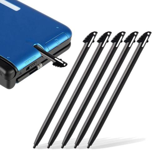 Insten 10-Piece Black Plastic Stylus for Nintendo 3DS N3DS XL LL (10 pcs Bundle)