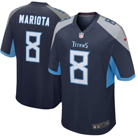 best website c7e12 a54f4 Marcus Mariota Tennessee Titans Nike Youth New 2018 Game Jersey - Navy