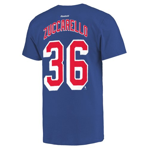 1a1dfe44f Mats Zuccarello New York Rangers Reebok Name and Number Player T-Shirt -  Royal Blue - Walmart.com