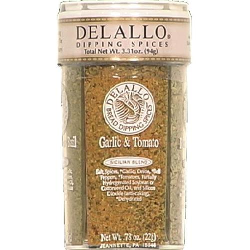 DeLallo Dipping Spices, 4 Oz (Pack of 6)