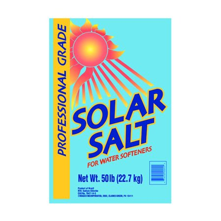 Diamond Crystal ® Solar Naturals ® Salt Crystals for Water Softeners 40 lb. Bag