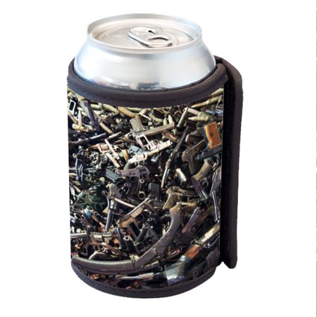 KuzmarK Insulated Drink Can Cooler Hugger - Rifle Shotgun Pistol Semi Automatic
