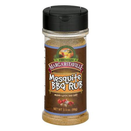 (2 Pack) Margaritaville Mesquite BBQ Rub, 3.5 OZ
