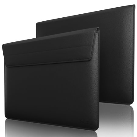 Kuzy - Leather Sleeve Case for MacBook Pro 15