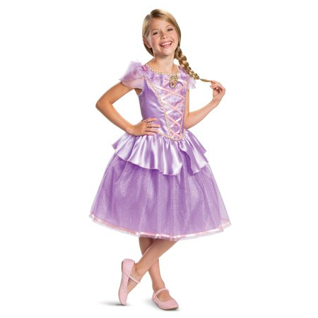 Rapunzel Halloween Costume With Wig (Girl's Rapunzel Classic Toddler Halloween Costume -)