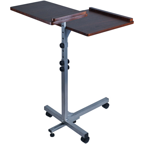 Trademark Home 2-Shelf Laptop Utility Desk
