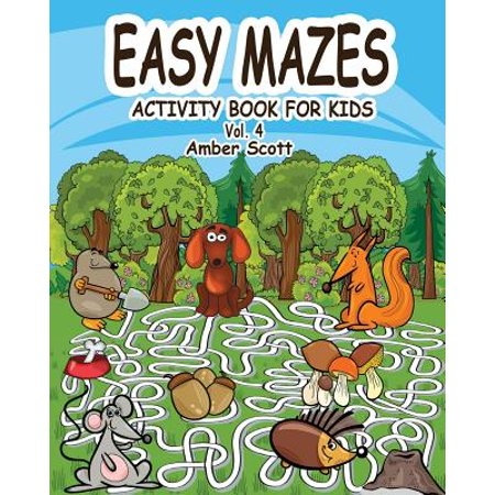 Easy Mazes Activity Book for Kids - Vol. 4](Easy Halloween Activities)