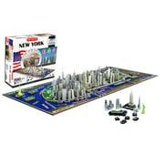 4-D New York City Skyline Time Puzzle